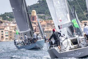 SAINT-TROPEZ PROVIDES AN ALLURING BACKDROP FOR FARR52s FURTIF² AND TRILOGY 88, Sail No 8880, FURTIF², Owner:DELCOURT BRUNO, Group A IRC, FARR 52